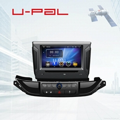 7inch automotive DVD player for Buick Excelle 2015 with GPS and iPhone airplay