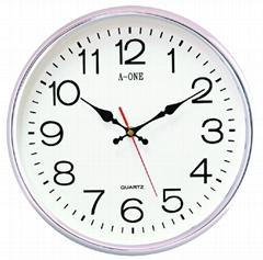 TG-0558超靜音鍍銀掛鐘