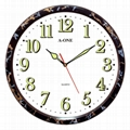 TG-0567 Luminous Number Wall Clock