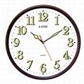 TG-0566 Luminous Number Wall Clock 1