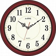 TG-0579 红木复古挂钟