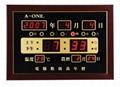 LED several electron alarm clocks
