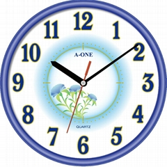 TG-0588 Flower Wall Clock