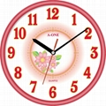 TG-0588 Flower Wall Clock 3