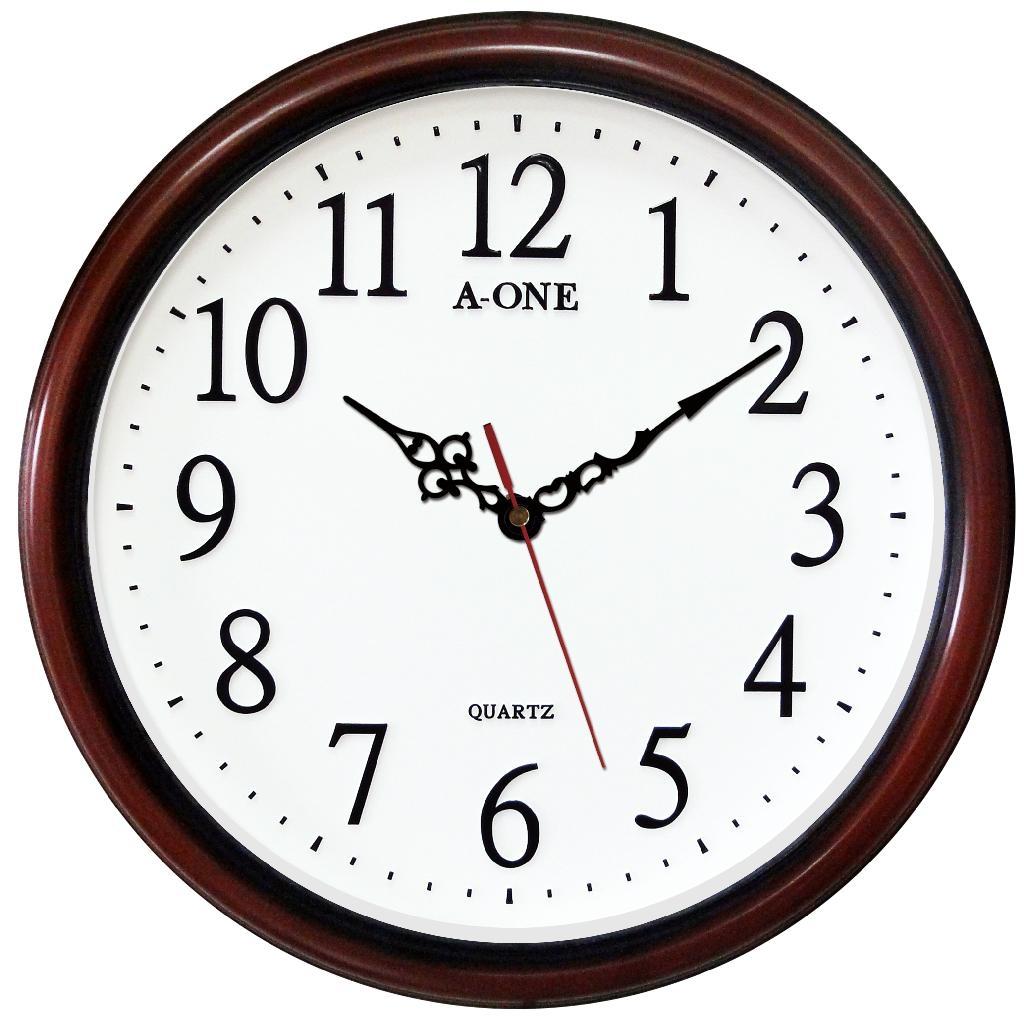 TG-0590 Quiet 3D Number Wall Clock 1