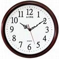 TG-0590 Quiet 3D Number Wall Clock