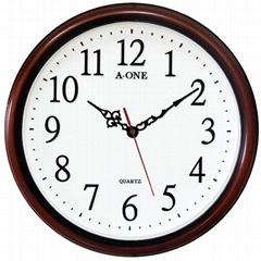 TG-0590 Quiet 3D Number Wall Clock
