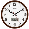 TG-0228 LCD WALL CLOCK