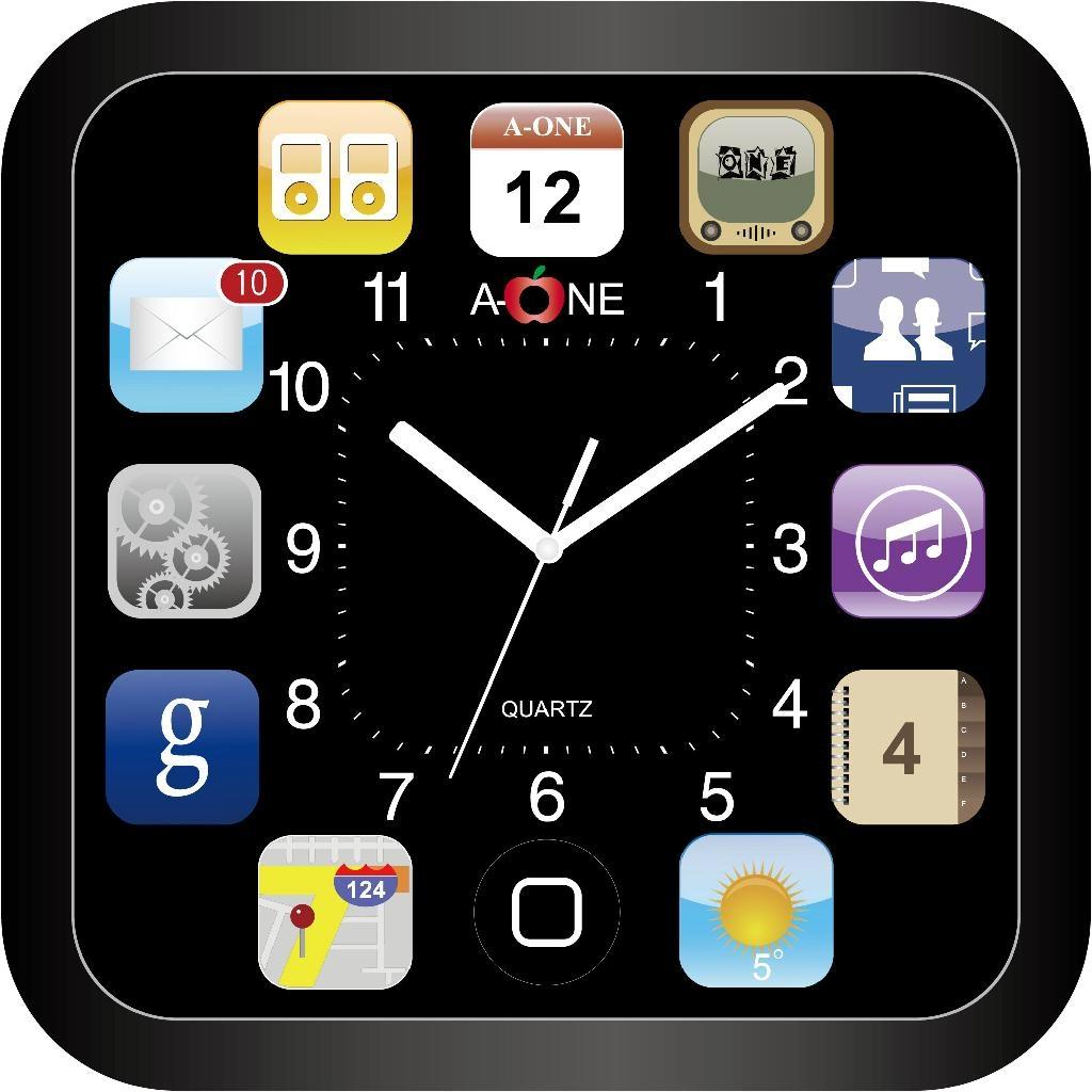 TG-0594 Square Wall Clock 1