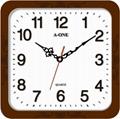 TG-0595  方形立體字掃描掛鐘