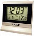LCD several electron alarm clocks