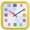 TG-0301   彩色繽紛方型掛鐘 1
