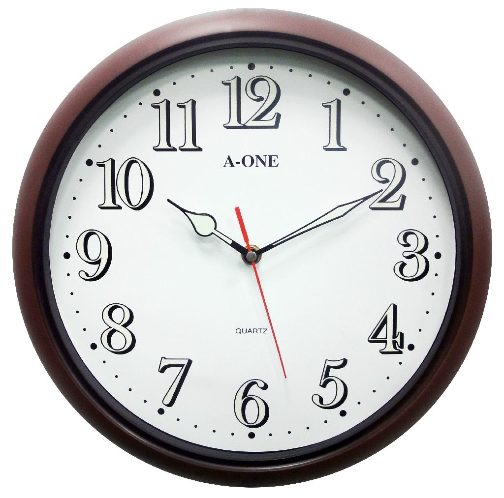 TG-0302 Brown Wall Clock 1