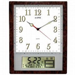 TG-0921 LCD Wall Clock
