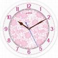 TG-0306  Flower Wall Clock