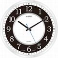 TG-0245  時尚簡約玻璃印刷掛鐘