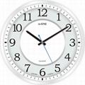TG-0245  時尚簡約玻璃印刷掛鐘 2