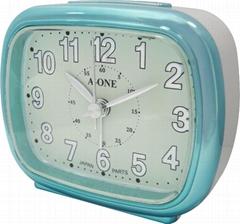 TG-695 Hi-Flash Aluminum Nameplate Dial Alarm Clock