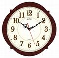 TG-0308 Camellia shape Wall Clock