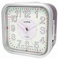 TG-0135 Aluminum ALARM CLOCK