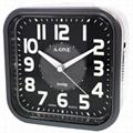 TG-0136    台製時尚夜光鈴聲鬧鐘