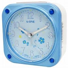 TG-0137 方型花樣鑽飾鬧鐘