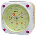 TG-0137 Square Artistic with Jewelry Insert Alarm Clock