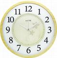 TG-0256 Woody Frame+Glass printed Clock