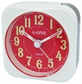 TG-0148 Colorful Luminous Number Alarm Clock