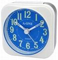 TG-0148 Colorful Luminous Number Alarm Clock