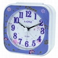 TG-0150 Small And Colorful Frame Alarm Clock
