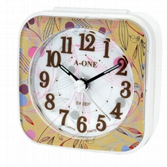 TG-0150 Small And Colorful Frame Alarm Clock (Hot Product - 1*)