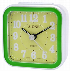 TG-0151 Colorful Aluminum Dial Alarm Clock