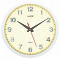 TG-0257 聚焦款立體貼字掛鐘 2