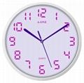 TG-0310 Macaron Color Wall Clock