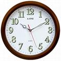 TG-0312 經典咖啡框色掛鐘