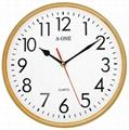TG-0313 簡約亮框掛鐘