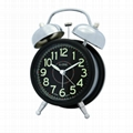 TG-0156 Style of Simplicity Twin Bell Alarm Clock