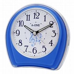 TG-0154 Jumping Music Note Alarm Clock