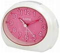 TG-0146 Colorful Oval Alarm Clock
