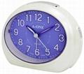 TG-0146 Colorful Oval Alarm Clock