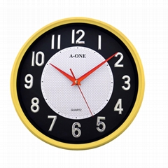 TG-0262 Quiet 3D stick-on number Wall Clock