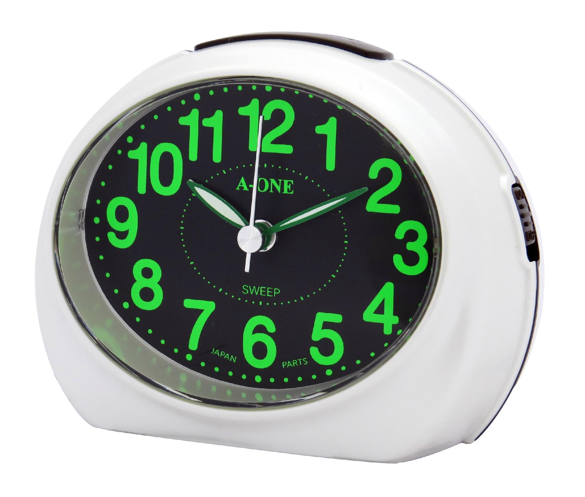 TG-0162 彩豔螢光數字Bibi鬧鐘 1