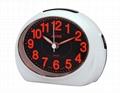 TG-0162 彩豔螢光數字Bibi鬧鐘 4