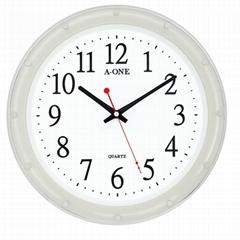 TG-0314 瓷白12刻度點掛鐘