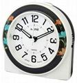 TG-0168 Flower design Alarm Clock