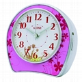 TG-0155 Artistic Flower Music Alarm Clock