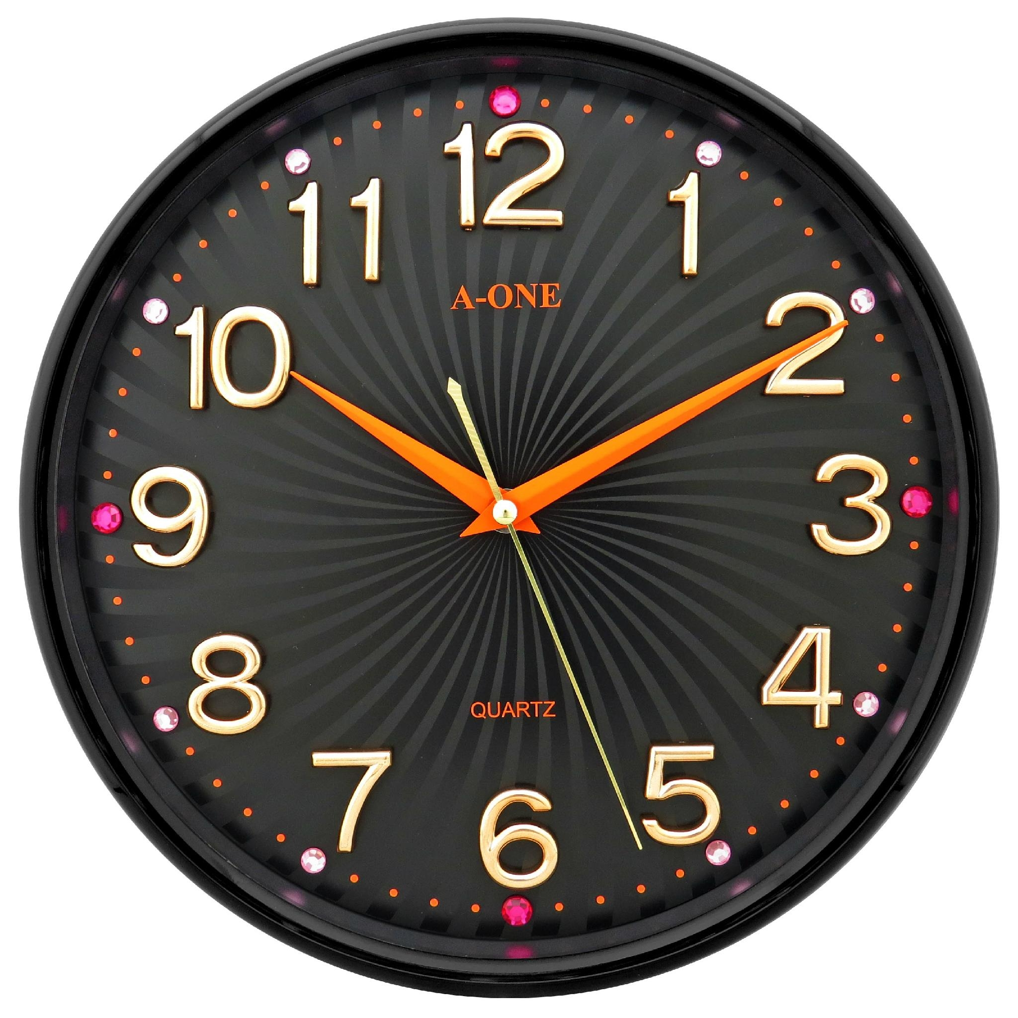 TG 0266 Quiet Wall Clock