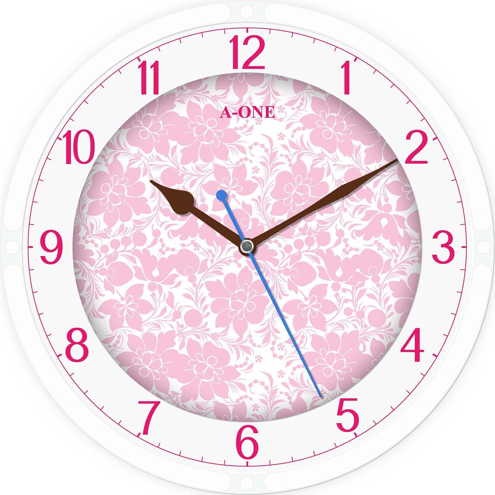 TG-0306   玻璃絲印底花時尚掛鐘 1