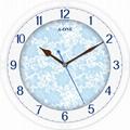 TG-0306   玻璃絲印底花時尚掛鐘 2